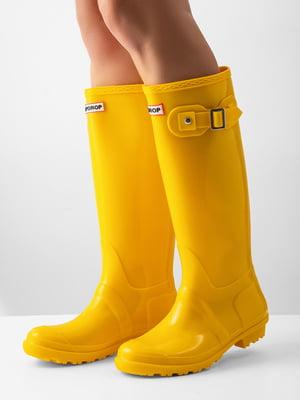 Сапоги желтые   4645870