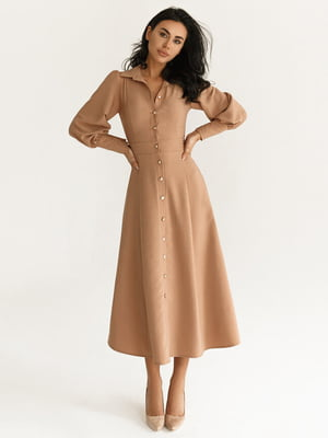 Платье бежевое | 5281710