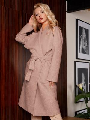 Пальто розовое | 5291067