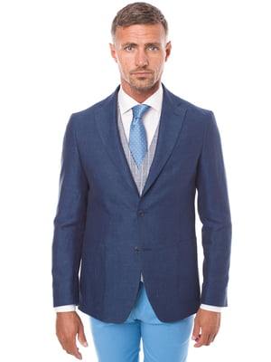 Пиджак синий | 3468683