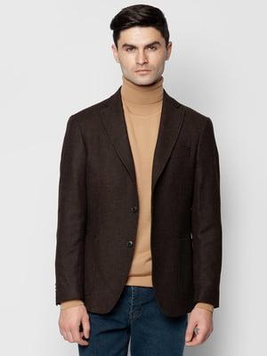 Пиджак коричневый | 5309473