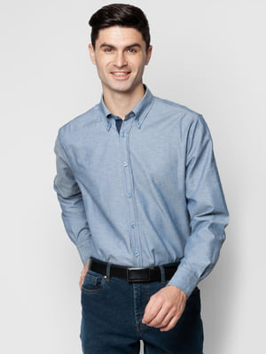 Рубашка синяя | 5309483