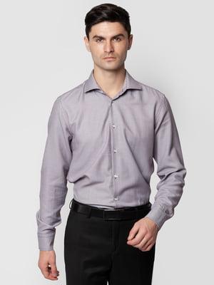 Рубашка бордовая в узор | 5309486