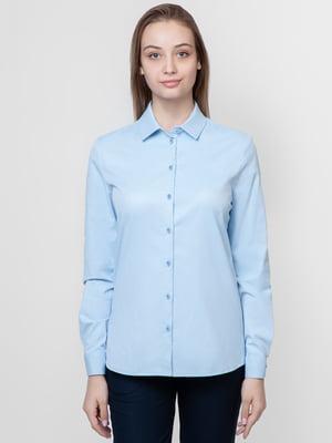 Рубашка голубая | 5309520