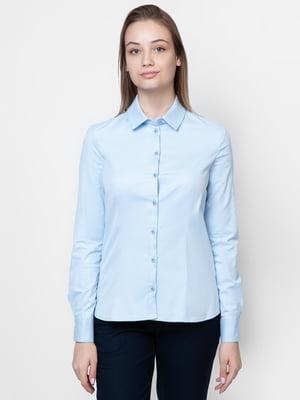 Рубашка голубая | 5309523