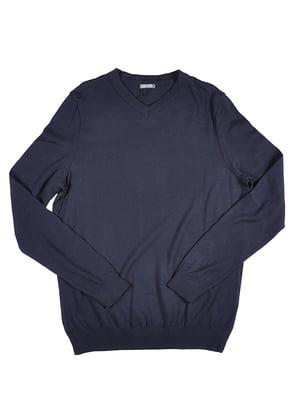 Пуловер синий | 5309553