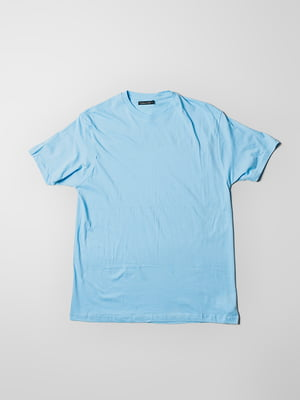 Футболка голубая | 5309572