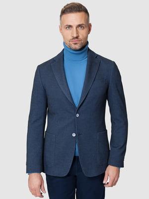 Пиджак синий | 5309617