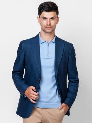 Пиджак синий | 5309619