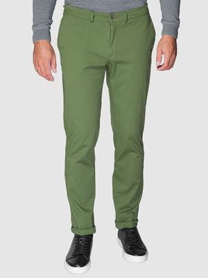 Брюки зеленые | 5309626