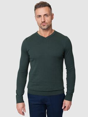Пуловер зеленый | 5309725