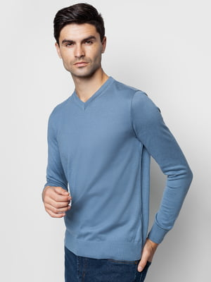 Пуловер серо-голубой | 5309933