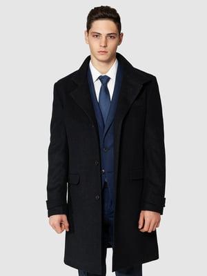 Пальто темно-синє | 5309953