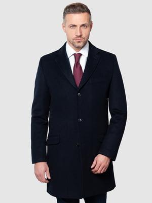 Пальто темно-синє | 5309966