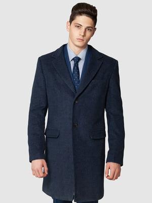 Пальто синє   5309981