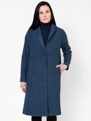 Пальто синее | 5309991