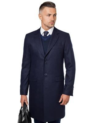 Пальто темно-синє | 5309997