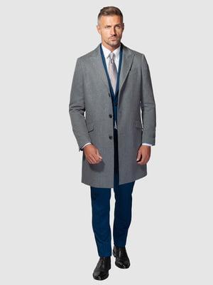 Пальто сіре   5310016