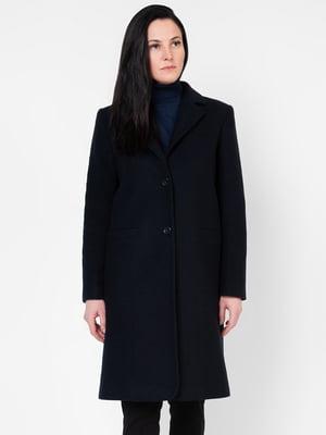 Пальто темно-синее | 5310037