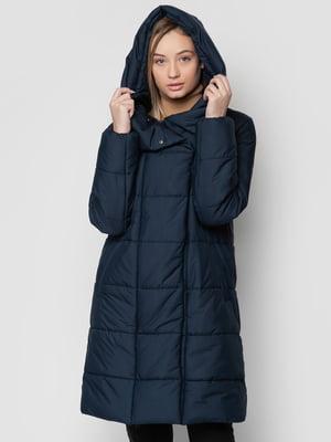 Пальто синее | 5310064
