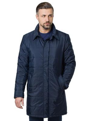 Пальто синее | 5310077
