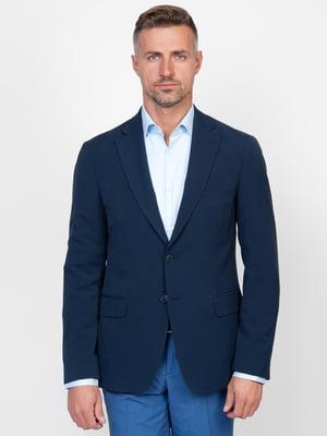 Піджак синій | 5310113