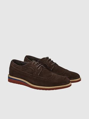 Туфли темно-коричневые | 5310117