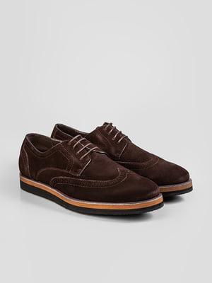 Туфлі темно-коричневі | 5310143