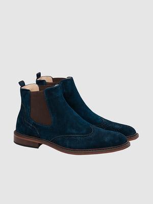 Ботинки синие | 5310144