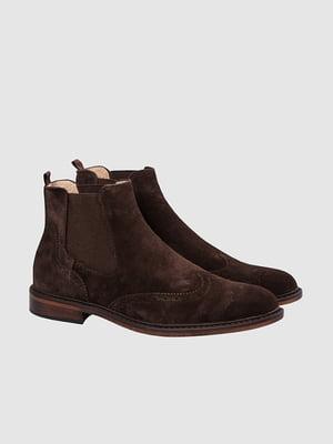 Ботинки темно-коричневые | 5310145