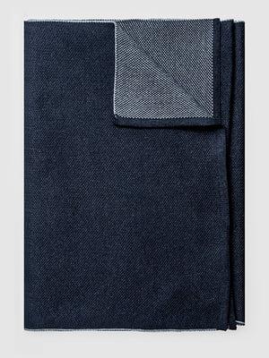 Шарф темно-синий | 5310683
