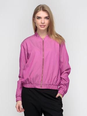 Бомбер рожевий | 5310743