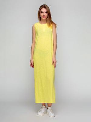 Платье желтое | 5310747