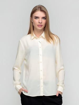 Рубашка молочного цвета   5310778