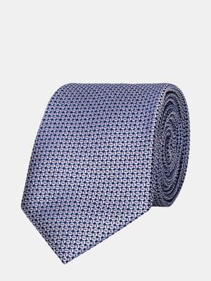 Краватка фіолетова з візерунком | 5310811