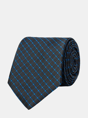 Краватка чорна в клітинку | 5310813