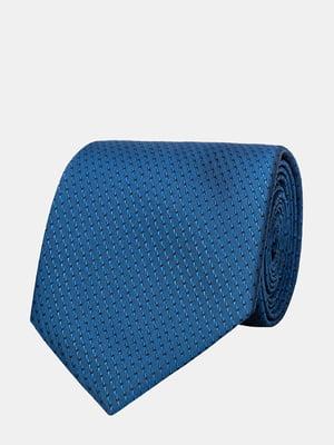 Галстук синий в полоску | 5310818