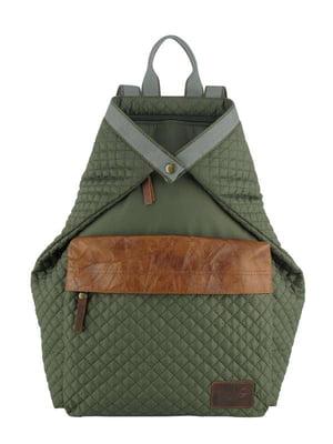 Рюкзак-трансформер зеленый | 4021887