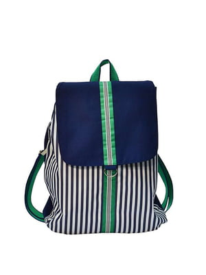 Рюкзак синий в полоску   5311566