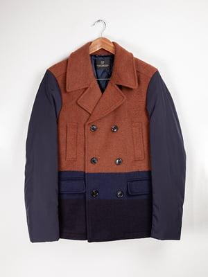 Пальто комбінованого забарвлення | 5312020