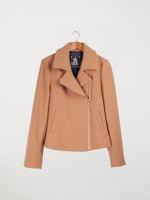 Пальто коричневе | 5312032