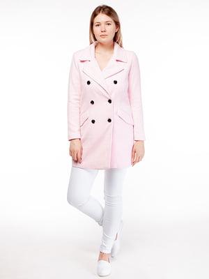 Пальто розовое   5312043