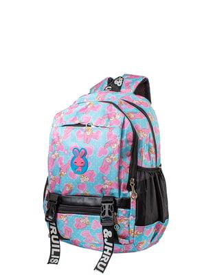 Рюкзак блакитний Valiria Fashion | 5312974