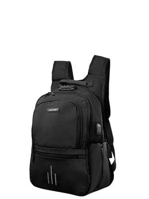 Рюкзак чорний Spacetrek   5313029