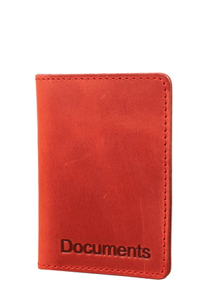 Обкладинка для документів червона | 5313037