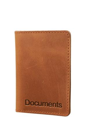 Обкладинка для документів коричнева | 5313038