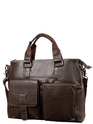 Портфель коричневий | 5313114