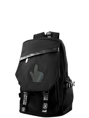 Рюкзак чорний Valiria Fashion | 5313135