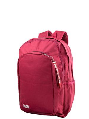 Рюкзак вишневого кольору Valiria Fashion | 5313164