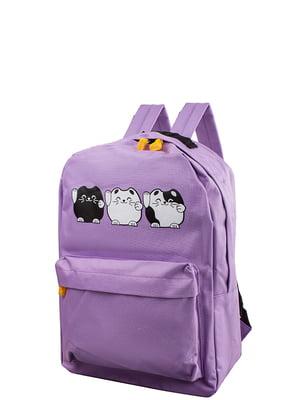 Рюкзак бузкового кольору   5313174